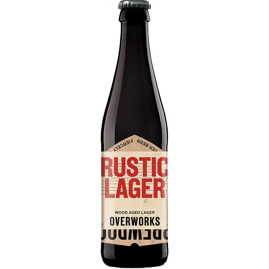 OverWorks - Rustic Lager 33cl