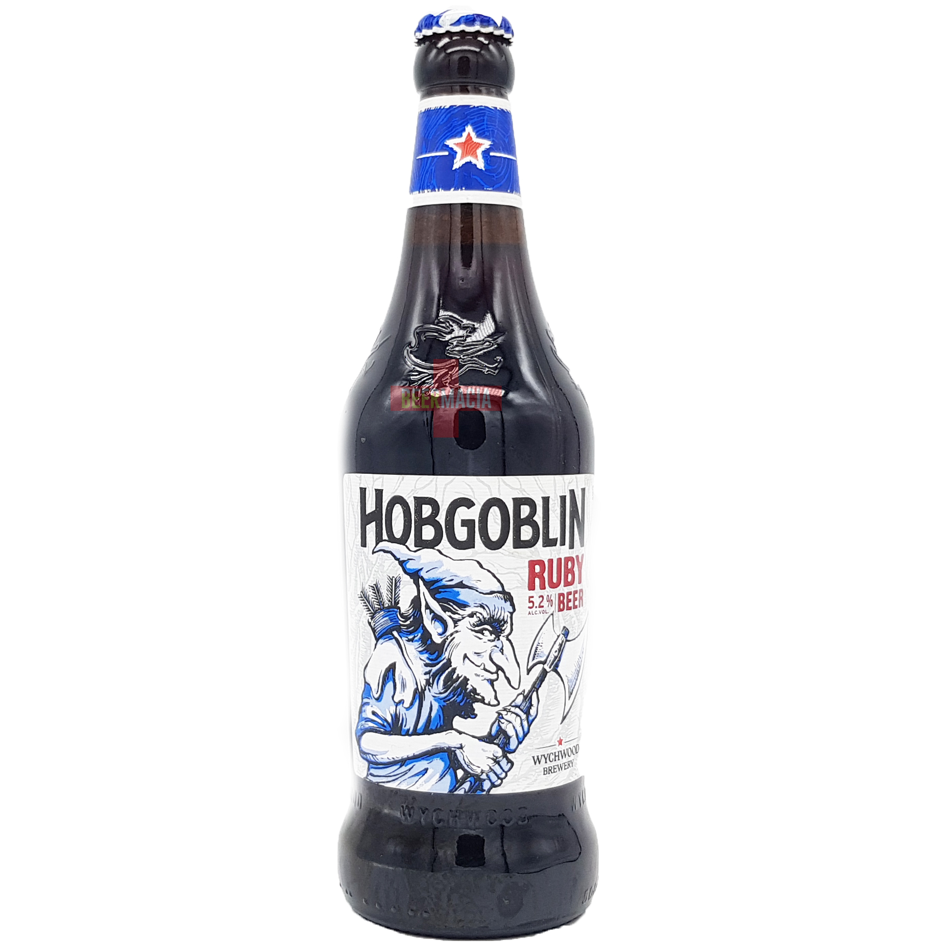 Wychwood Brewery - Hobgoblin Legendary Ruby Beer 50cl