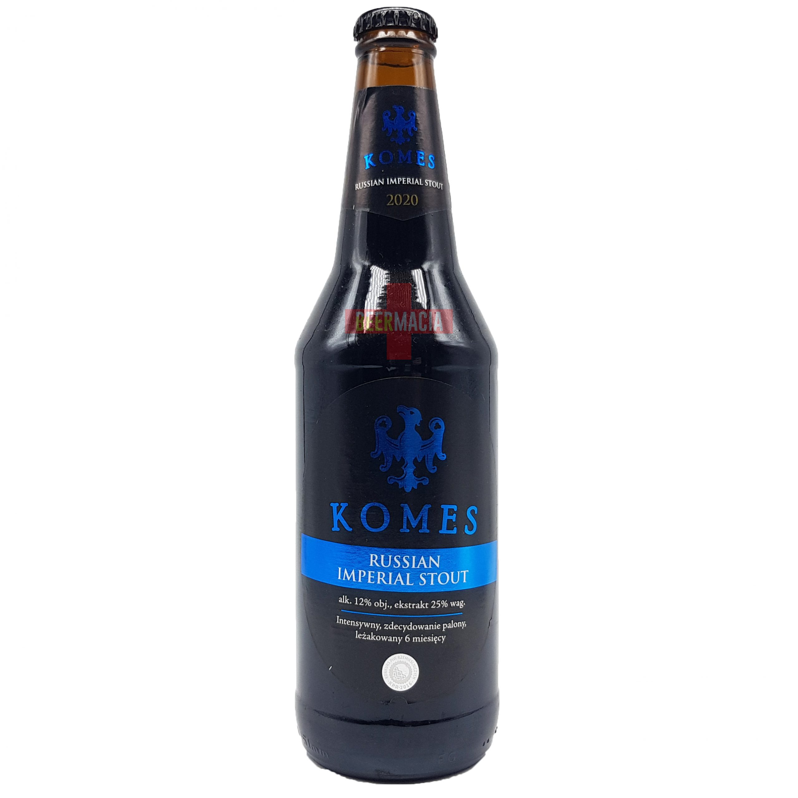 Browar Fortuna - Komes Russian Imperial Stout 50cl