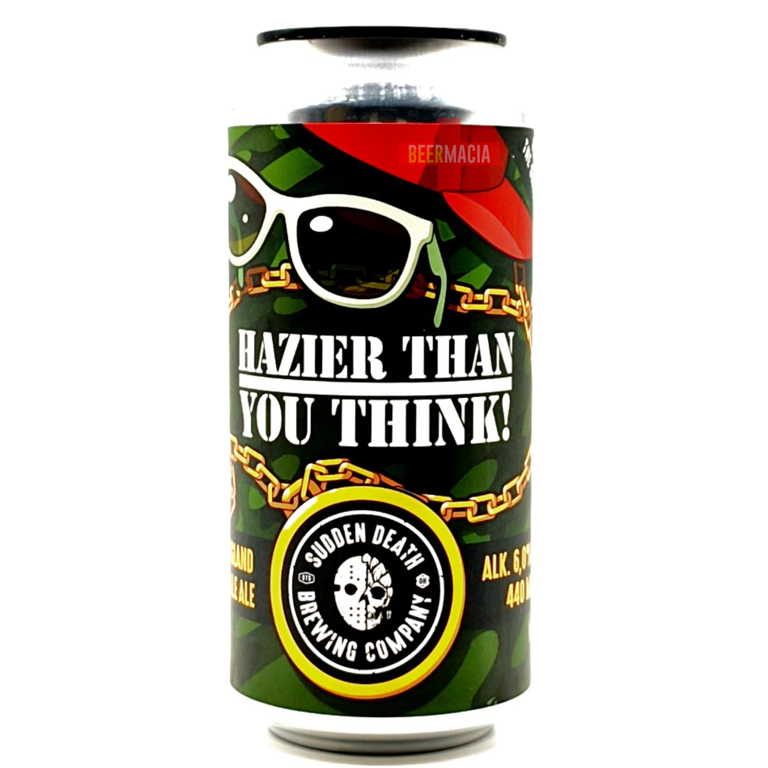 Sudden Death Brewing Co. - Hazier Than You Think 44cl