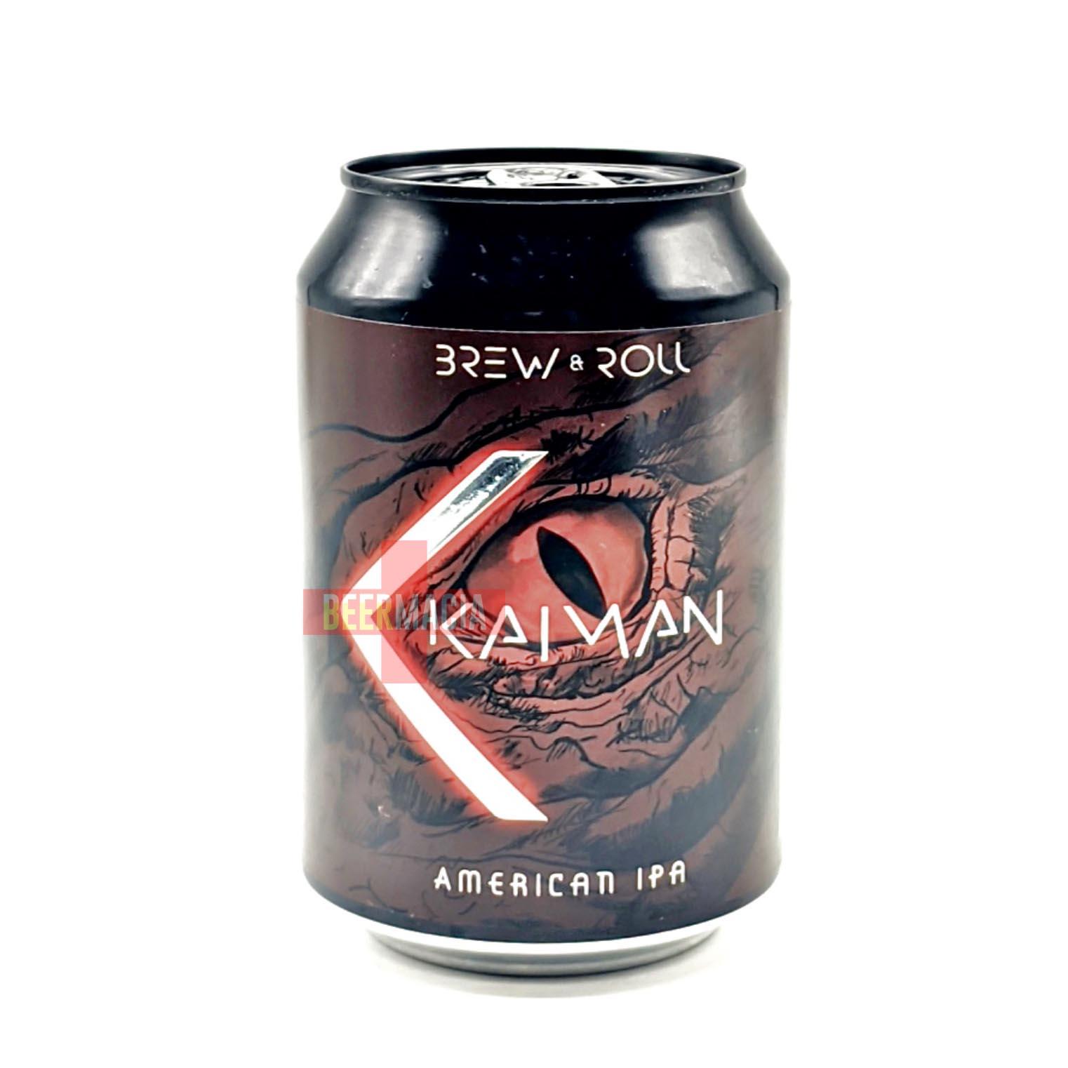Cervezas Brew & Roll - Kaiman 33cl