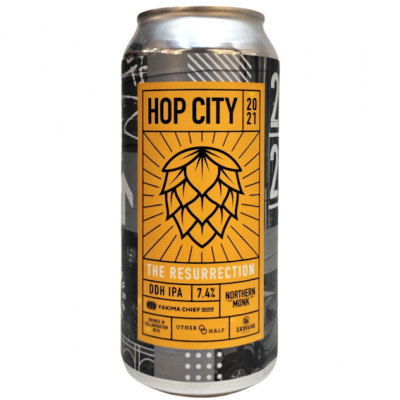 Hop City - The Resurrection // DDH IPA (2021) - Northern Monk 44cl