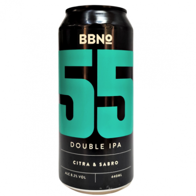 Brew by Numbers - 55|Double IPA - Citra & Sabro 44cl