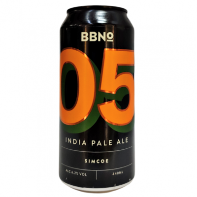 05|India Pale Ale – Simcoe (2021) - Brew By Numbers 44cl